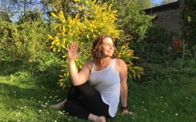 """How Yoga can help us transition through the Menopause to our """"Second Spring"""""""